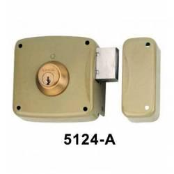 Cerradura Lince Serie 5124 de sobreponer