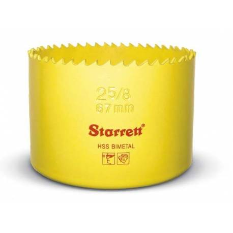 Corona perforadora Starrett Bimetal