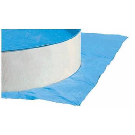 Tapiz Suelo para piscina ovalada de 550x366cm