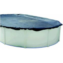 Cubierta de invierno para piscina ovalada de 730x366cm