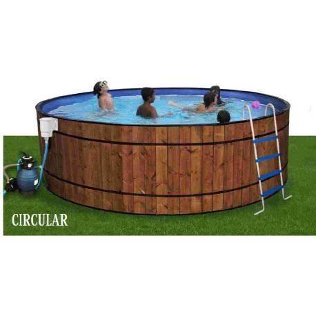 Piscina TOI circular serie BARRICA 550cm