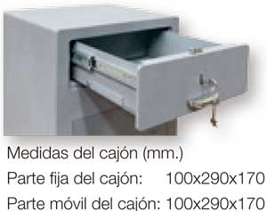 Cajón serie depósito