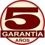 5 años de garantia