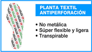 Panter Plus plantilla antiperforación