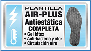 Panter plantilla air plus