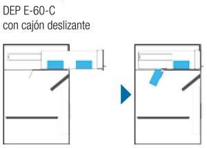 Btv serie depósito sistema cajón